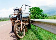 gammal trehjuling fotografering för bildbyråer