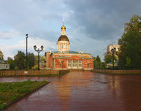 Gammal troendekyrka av Kristi födelsen Rogozhskoy Royaltyfri Foto