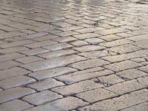 gammal trottoar Royaltyfri Foto