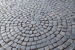 gammal trottoar för fragment Arkivfoto
