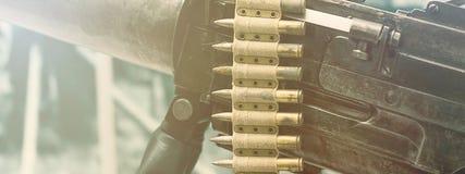 gammal trycksprutamaskin Första maskingevär för världskrig Royaltyfri Bild