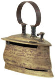 Gammal tunnbindare Iron Cutout Royaltyfri Bild