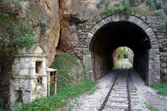 gammal tunnel arkivbild