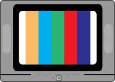 gammal tv Royaltyfri Bild