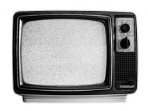 gammal tv royaltyfri fotografi