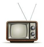 Gammal TV Arkivfoto