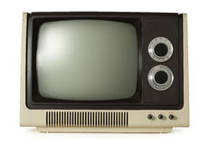 gammal tv Arkivfoton