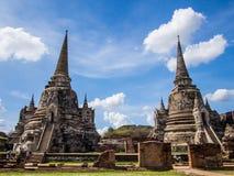 Gammal tvilling- pagod Arkivbilder