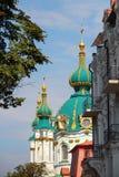 Gammal ukrainsk kristen kyrka Royaltyfri Foto