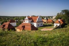 Gammal ukrainsk stad Fotografering för Bildbyråer