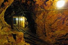 Gammal uranmin arkivfoto