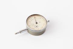 Gammal USSR-mikrometer Arkivbild