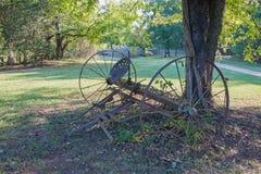 gammal utrustninglantgård Arkivbild