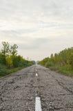 gammal väg för land Royaltyfria Bilder