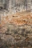 gammal vägg Arkivbild