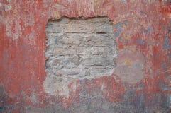 gammal vägg 3 Arkivbilder