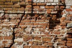 gammal vägg Arkivfoto