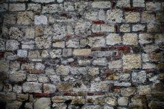 gammal vägg för bakgrund Arkivbild