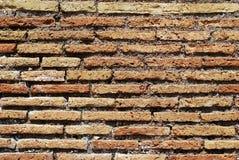 gammal vägg för bakgrund Foto som tas i den Rome staden Arkivfoto