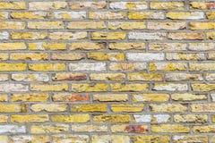 gammal vägg för bakgrundstegelsten royaltyfri bild