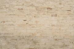 gammal vägg för bakgrundstegelsten Royaltyfria Foton