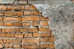 Gammal vägg för bakgrundstextur Arkivbild