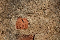 Gammal vägg för bakgrundstextur Royaltyfri Bild
