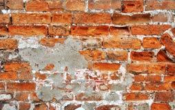 gammal vägg för brickwork Fotografering för Bildbyråer