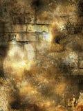 gammal vägg för grunge Royaltyfri Fotografi