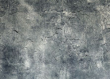Gammal vägg för Grunge med sprickor Arkivfoto