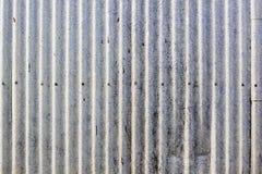 gammal vägg för industriell metall Royaltyfri Bild