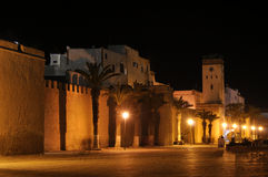 gammal vägg för stadsessaouria Royaltyfri Fotografi