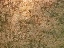 Gammal vägg för stengräsplantextur Arkivfoton