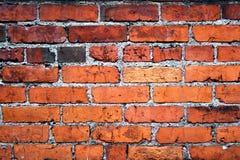 gammal vägg för tegelsten royaltyfri foto