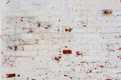 gammal vägg för tegelsten Royaltyfria Bilder