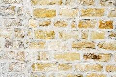 gammal vägg för tegelsten royaltyfri fotografi