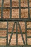 gammal vägg för tegelstendetalj Royaltyfri Fotografi