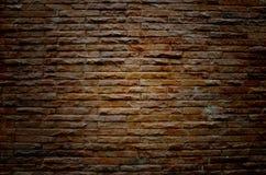 gammal vägg för tegelstengrunge royaltyfria bilder