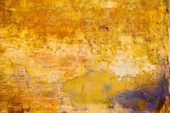 gammal vägg Gammal riden ut bakgrund för färggrunge tappning Arkivbild