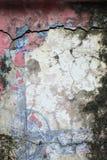 Gammal vägg med formen royaltyfria foton