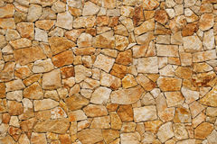 Gammal vägg som byggs av grov tegelsten Fotografering för Bildbyråer