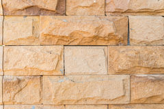 Gammal vägg som göras av den Jerusalem stenen Arkivfoton