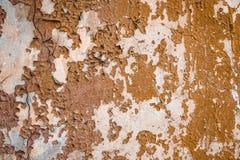 Gammal vägggrunge texturerar bakgrunder Royaltyfria Foton