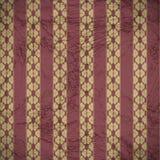 gammal väggwallpaper Fotografering för Bildbyråer