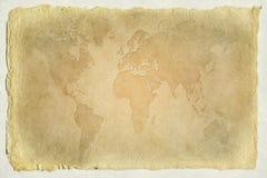 gammal värld för översikt royaltyfria bilder