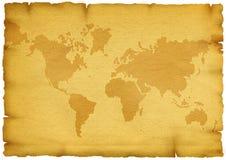 gammal värld för översikt stock illustrationer