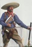 Gammal västra gunslinger Arkivfoton