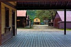 Gammal västra Town Arkivfoton