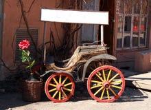 gammal vagn Arkivfoto