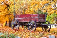 gammal vagn Royaltyfri Bild